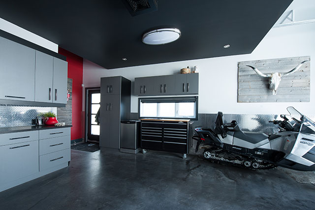 Armoires Garage Contemporain 45